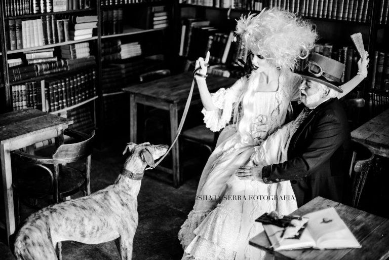 happy widower playing with dog WATERMARK